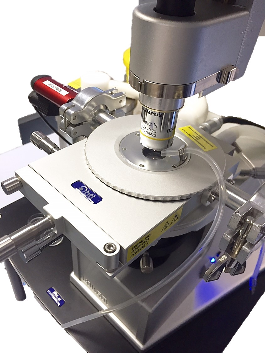 lyostat is an advanced freeze drying microscope with pc control for image and data capture and analysis functions