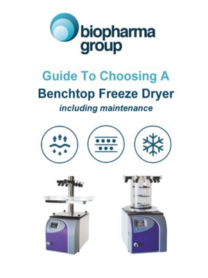 Guide to Choosing a Benchtop Freeze Dryer - Front Cover only